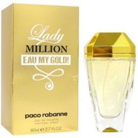 TST PACO RABANNE LADY MILLION EAU MY GOLD EDT 80 ML