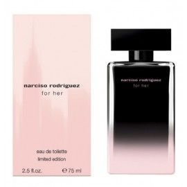 TST NARCISO RODRIGUEZ FOR HER EDT 75 ML LIMITED EDITION MISMO OLOR NEGRA ROSA