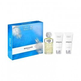 ROCHAS ESTUCHE EAU DE ROCHAS EDT 100 ML + BODY LOTION 100 ML + SHOWER GEL 100 ML