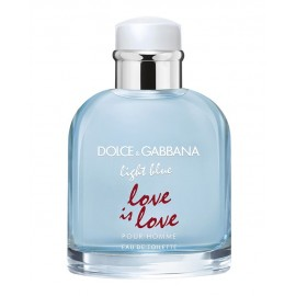 TST DOLCE & GABBANA LIGHT BLUE POUR HOMME LOVE IS LOVE EDT 125 ML