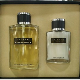 ANTONIO MIRO SIESTA EDT 120 ML + AFTER SHAVE 60 ML REGULAR