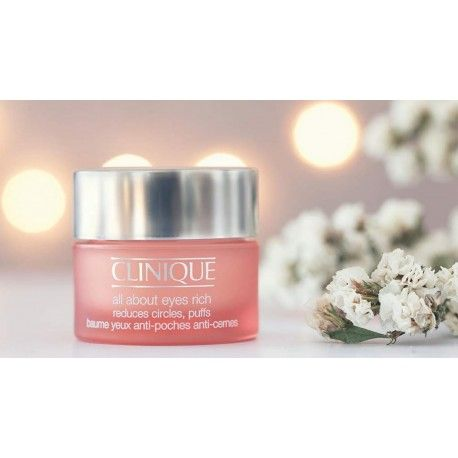 TST CLINIQUE ALL ABOUT EYES REDUCES CIRCLES PUFFS 15 ML